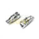LED autožárovka W5W 3W 12V CW - zrcadlový reflektor