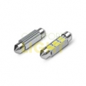 LED autožárovka C5W CAN-BUS 3W 12V CW 42mm (SMD 5630)