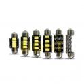 LED autožárovka C5W CAN-BUS 3W 12V CW 39mm (SMD 5630)