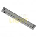 Podlinkové výklopné svítidlo - ALEXA LED 10,0W - svorkovnice, stříbrné