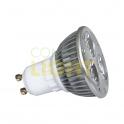 POWER LED žárovka 3x1W GU10
