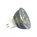 POWER LED žárovka 3x1W MR16 12V