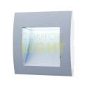 Vestavěné LED svítidlo WALL 10 1,5W gray WW / CW