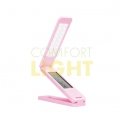USB LED multifunkční stolní LED lampička - růžová