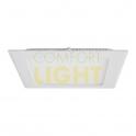 Vestavné LED svítidlo THIN 12W (čtverec/bílá) NW (750lm)