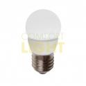 LED žárovka 4W E27 - Mini Globe / Kulička - WW (390lm) / CW (420lm)