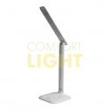 ROBIN stolní LED lampička - bílá (3 řežimy svícení)
