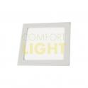 Vestavné LED svítidlo VEGA 6W (čtverec/bílá) WW/NW (420lm)