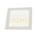 Vestavné LED svítidlo VEGA 24W (čtverec/bílá) WW/CW (2050lm)