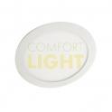 Vestavné LED svítidlo VEGA 12W (kulaté/bílá) WW/NW/CW (850lm)