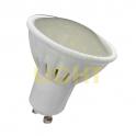LED žárovka 9W GU10 (keramický chladič / mléčné sklo) WW (780lm) / NW (810lm) / CW (810lm)