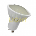 LED žárovka 7W GU10 (keramický chladič / mléčné sklo) WW (600lm) / CW (630lm)