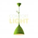 Silikonové závěsné svítidlo JAZZ - zelená (1xE27/40W)