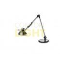 Premium LED lampička 10W (600lm), broušený hliník (3 režimy svícení + plynulé stmívání + infra spínač)