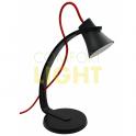 LED stolní lampička SKARA - 3,2W, 250lm, 3.000K, černá barva