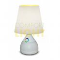 LED stolní RGB lampička MAGIC NIGHT ECRU - 6W, 330lm, 3.000K, RGB podsvícení