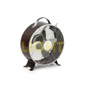 "Přenosný ventilátor TRITON - černá ""WEDGE"" barva"